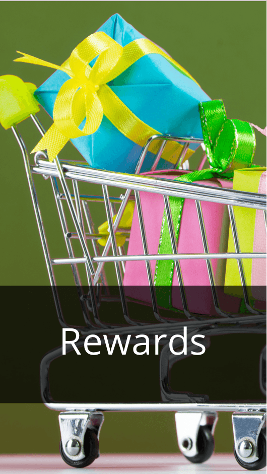 Sign up for our Rewards Card