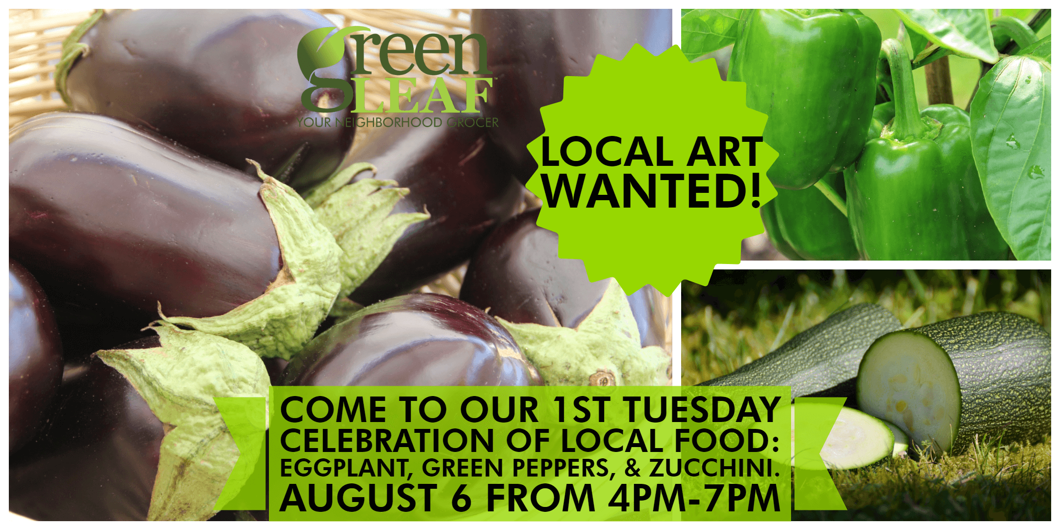 Local Art Wanted St. Louis GreenLeaf Market art and food show