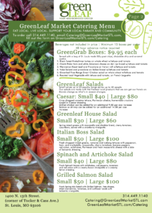 St. Louis salads