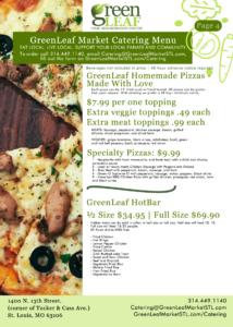 Downtown St. Louis Pizzas