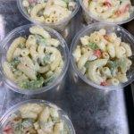 Homemade macaroni salad at GreenLeaf Market St. Louis