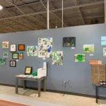 St. Louis art exhibit at GreenLeaf Market Grocery store