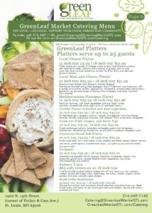 GreenLeaf Market Catering Service