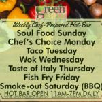 GreenLeaf Market Hot bar