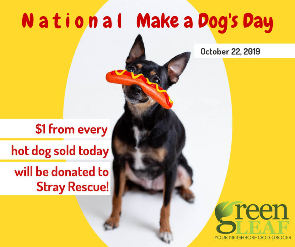 National Make a Dog's Day at GreenLeaf Market St. Louis