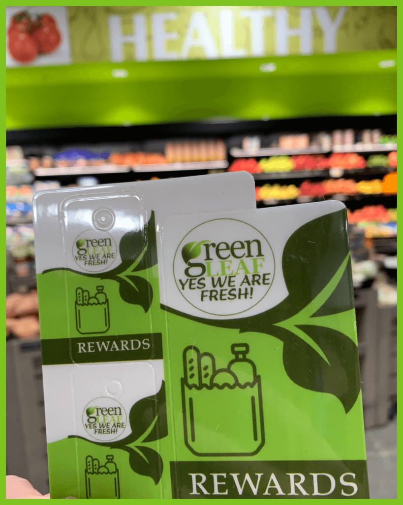 Use your GreenLeaf Market Rewards Card for Free Groceries and Free Gas at ZOOM Convenience Store