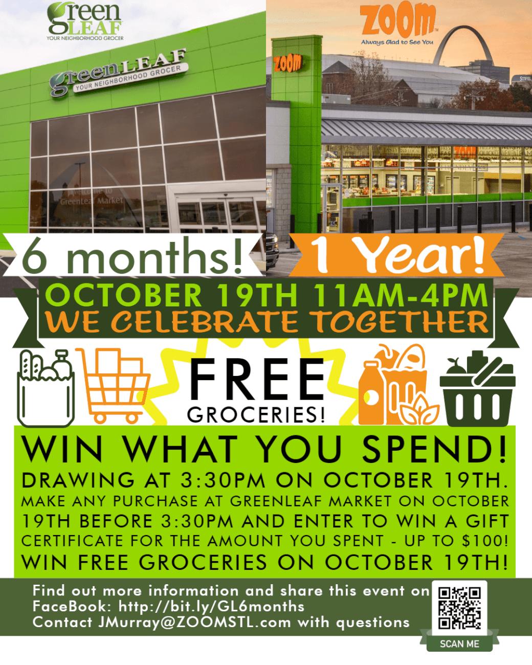 Win free groceries at GreenLeaf Market